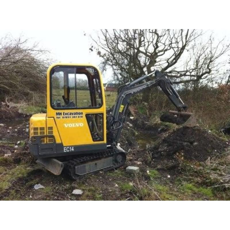 M H Excavation & Groundwork, Warrington | Plant & Machinery Hire - Yell