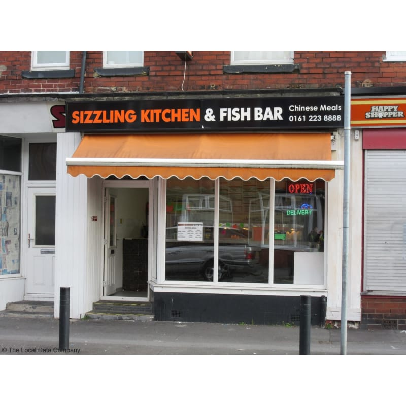 Sizzling Kitchen & Fish Bar, MANCHESTER