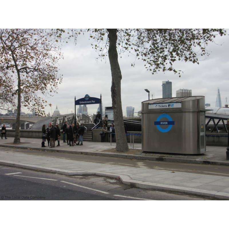 Embankment Pier London Ferry Services Yell