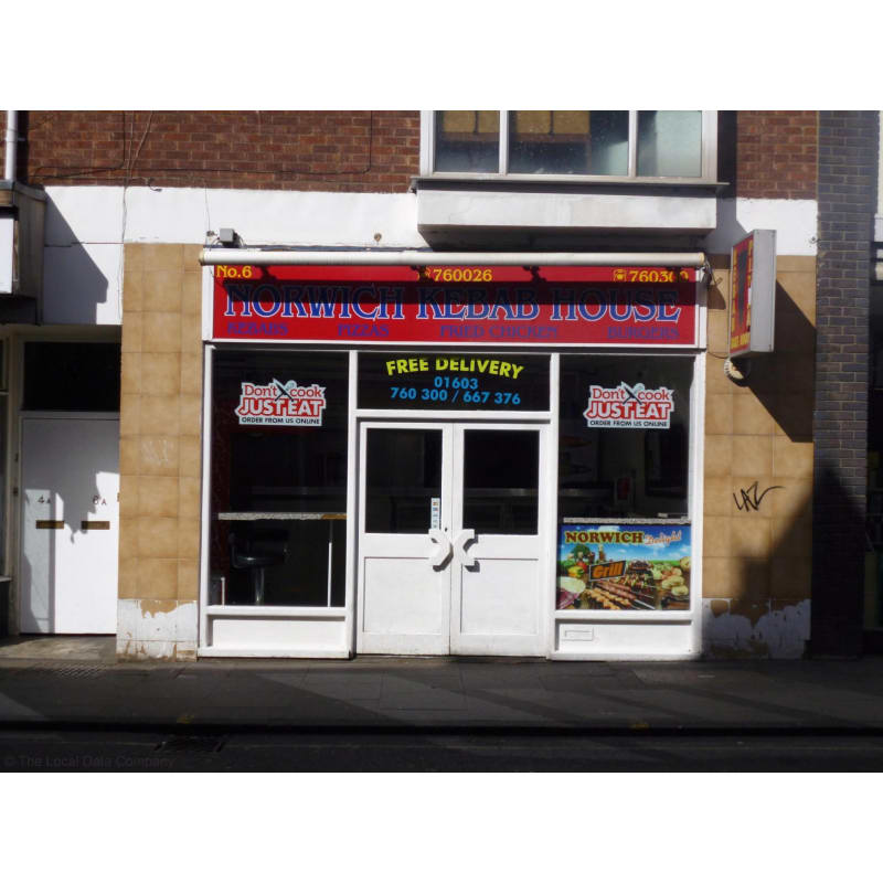Norwich Kebab House Norwich Pizza Delivery Takeaway Yell
