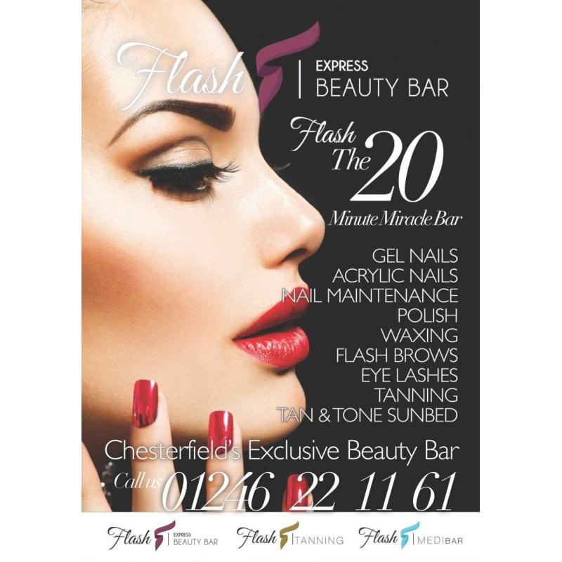 Flash Express Beauty Bar, Chesterfield | Beauty Salons - Yell