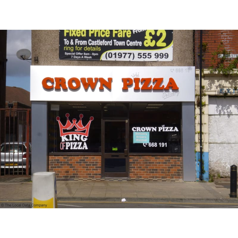 crown pizza sheffield just eat