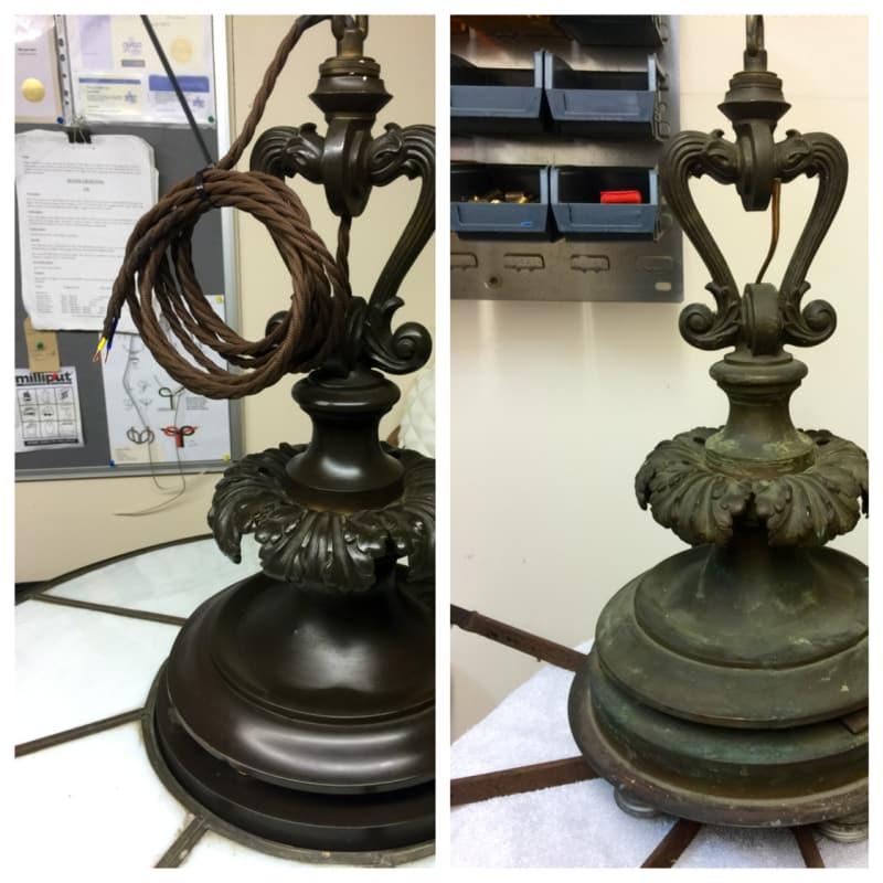 Fabulous The Lamp Workshop London Antique Restoration Yell Wiring 101 Bdelwellnesstrialsorg