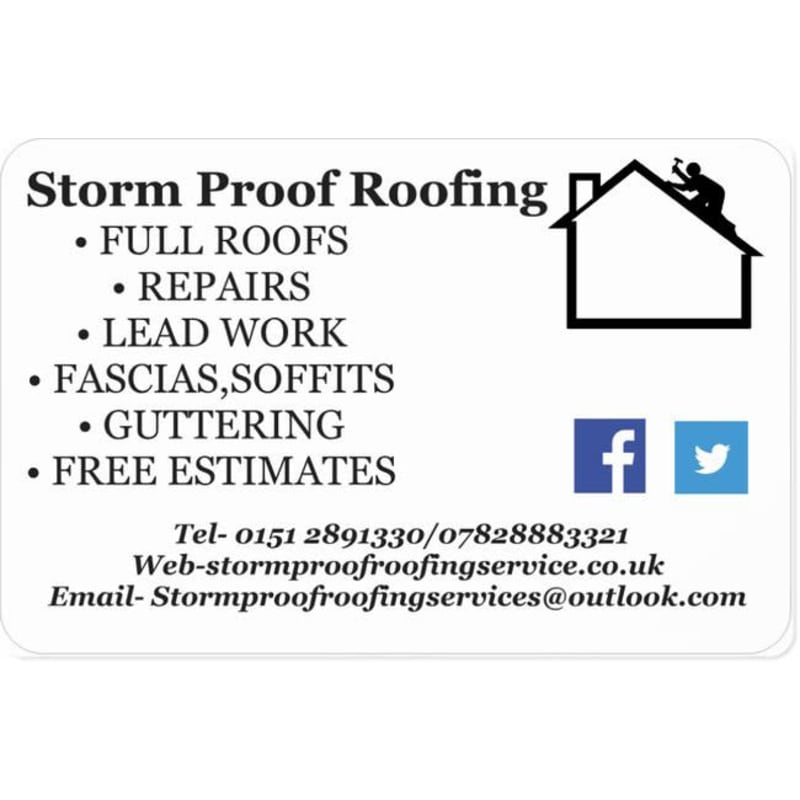 Storm Proof Roofing Liverpool Roofing Services Yell