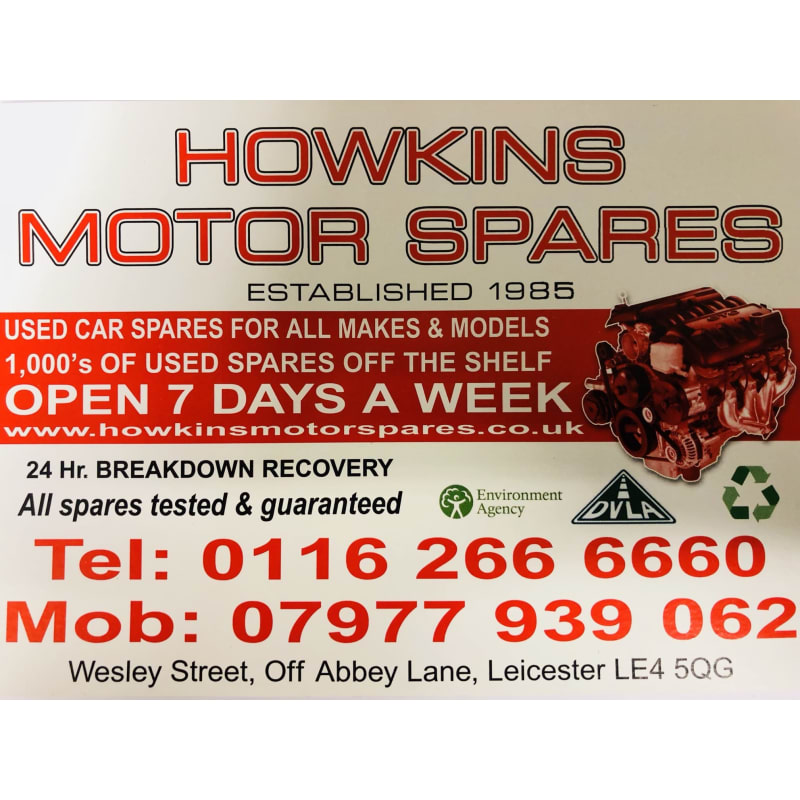 Howkins Motor Spares Leicester Japanese Car Parts Yell