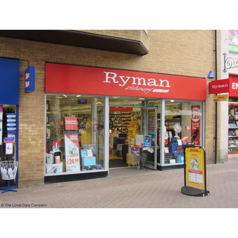 Ryman Cambridge toko alat tulis