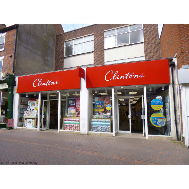 Clinton Cards Plc Retford Greeting Card Shops Yell