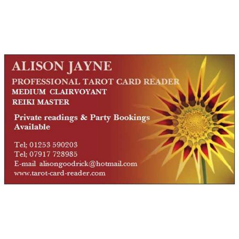 Alison Jayne, Blackpool | Psychics & Clairvoyants - Yell