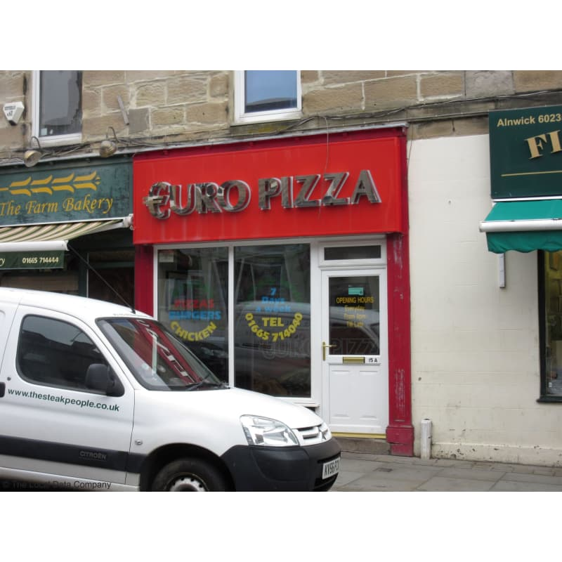 Euro Pizza Morpeth Pizza Delivery Takeaway Yell