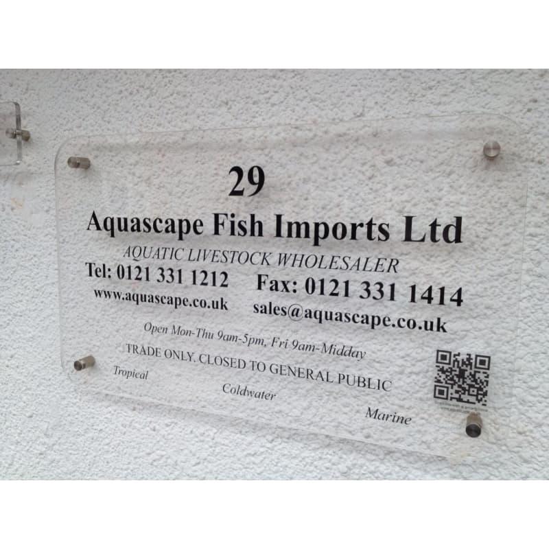Aquascape Fish Imports Ltd, Sutton Coldfield | Aquarium & Pond
