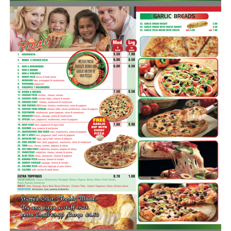 Pick A Pizza Abergavenny Pizza Delivery Takeaway Yell