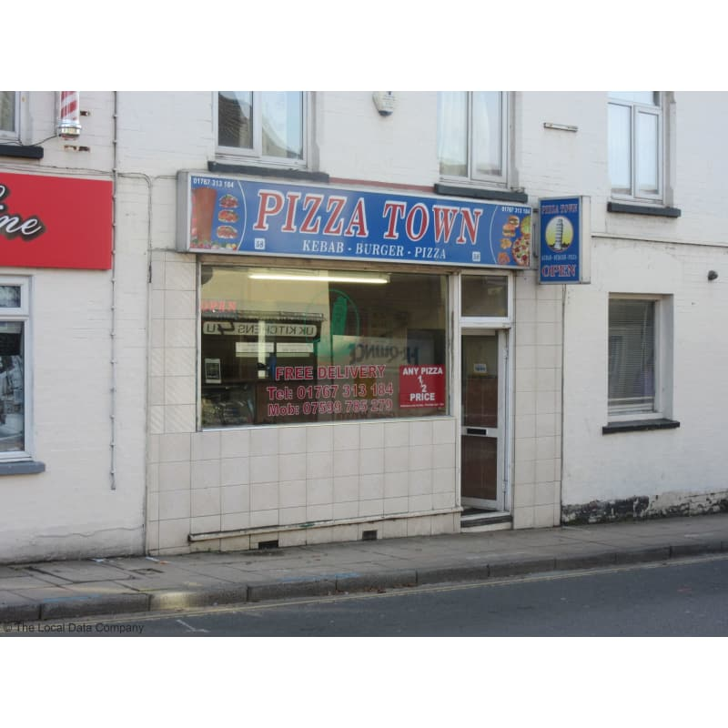 Pizza Town Biggleswade Pizza Delivery Takeaway Yell