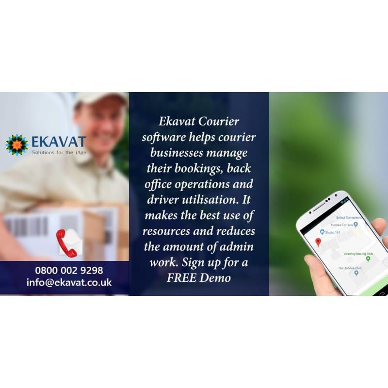 Ekavat Free Logistic /Courier Software, Crawley | Computer Software