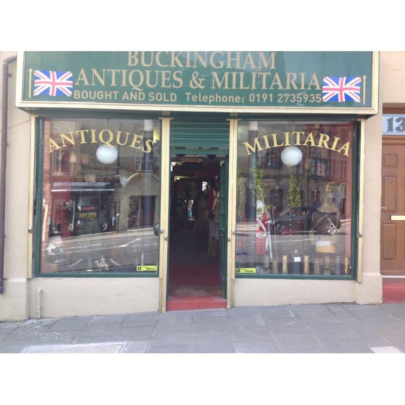 Buckingham Antiques & Militaria, Newcastle Upon Tyne   House