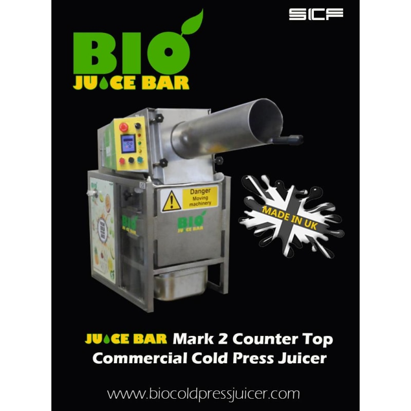 Bio Juice Bar Counter Top Commercial