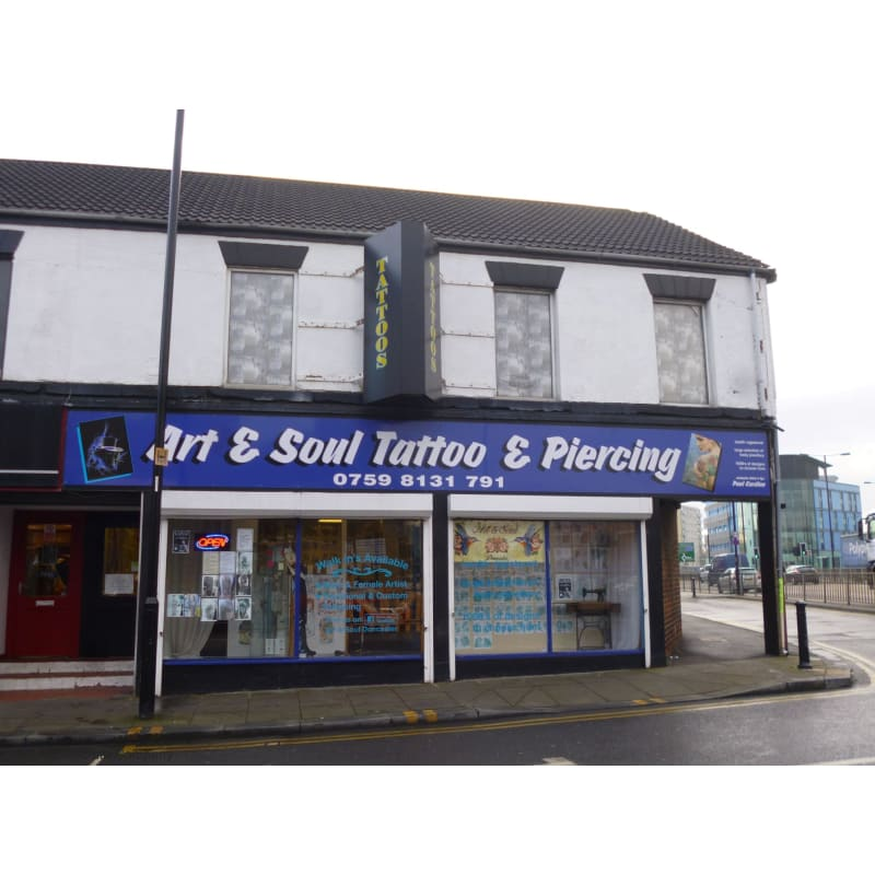 Art Soul Tattoo Piercing Doncaster Body Piercing Yell