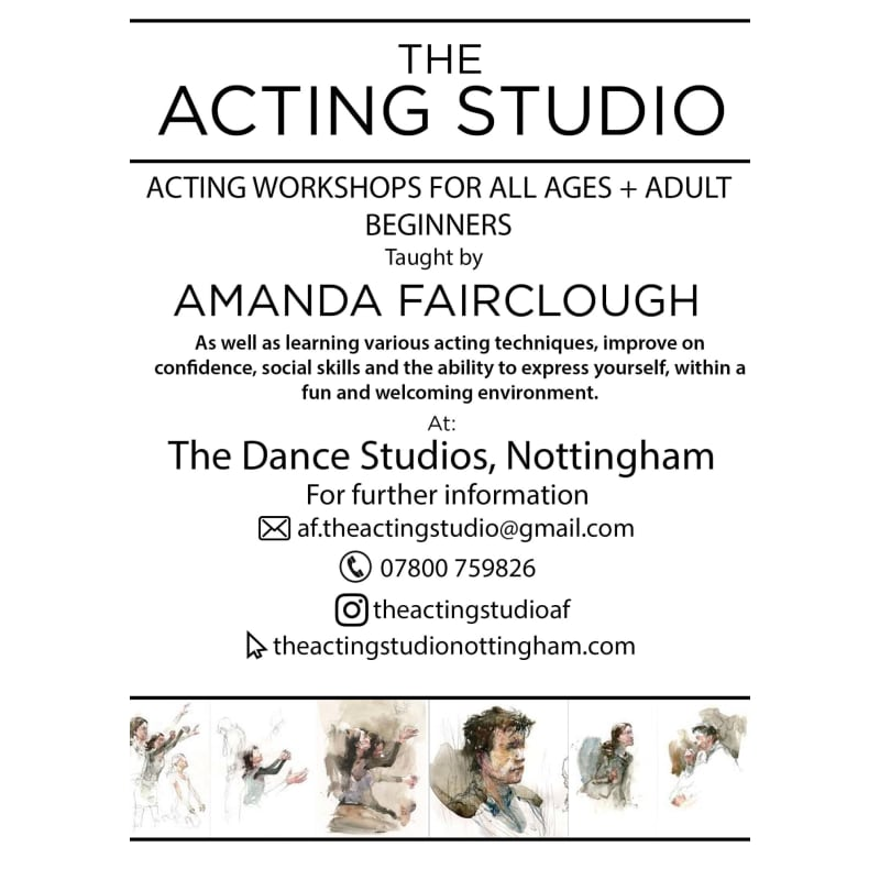 The Acting Studio, Nottingham | Acting Classes - Yell