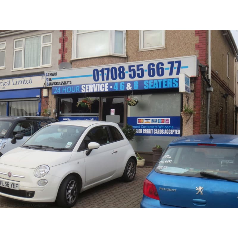 Connect Car Services Essex Romford Taxis Private Hire