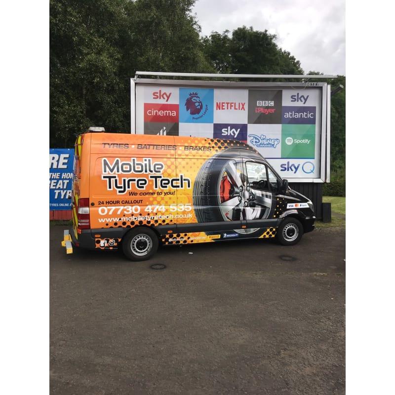 Mobile Tyre Fitting | Glasgow, Lanarkshire