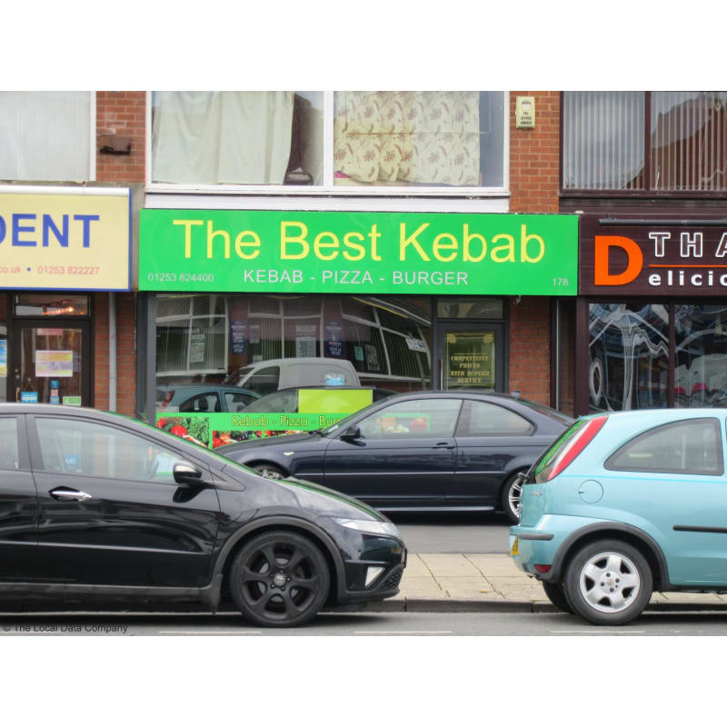The Best Kebab Pizza House Thornton Cleveleys Takeaway