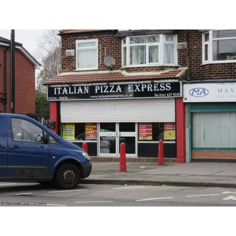 Italian Pizza Express Manchester Pizza Delivery