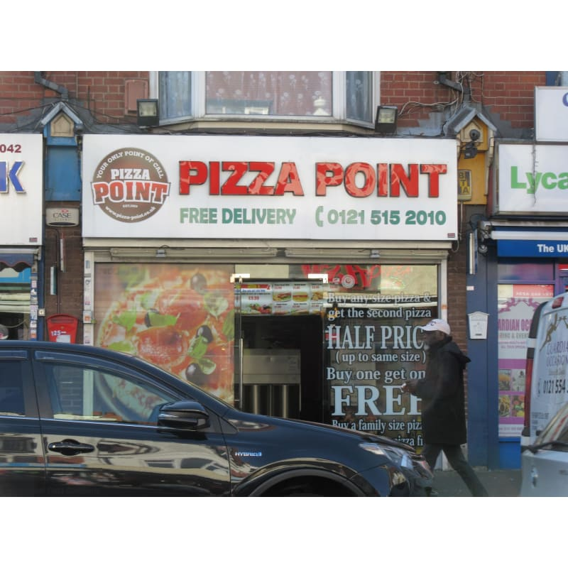 Pizza Point Birmingham Pizza Delivery Takeaway Yell
