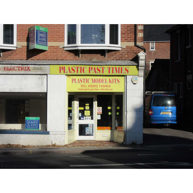 Plastic Past-Times, Poole | Model Shops - Yell