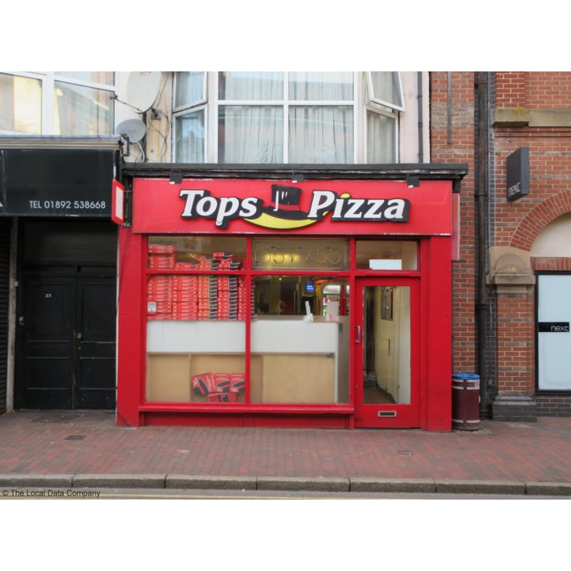 Tops Pizza Tunbridge Wells Takeaway Food Yell