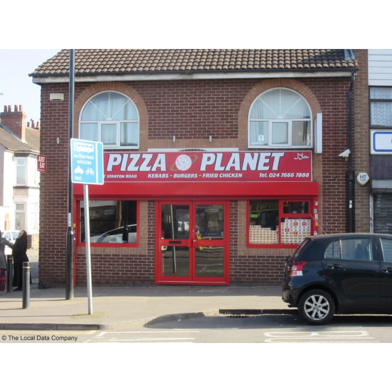 Pizza Planet Coventry Pizza Delivery Takeaway Yell