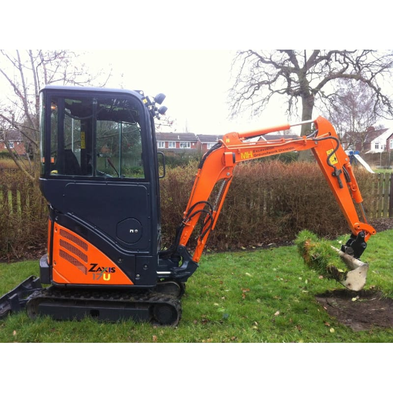 M H Excavation & Groundwork, Warrington | Plant & Machinery Hire - Yell