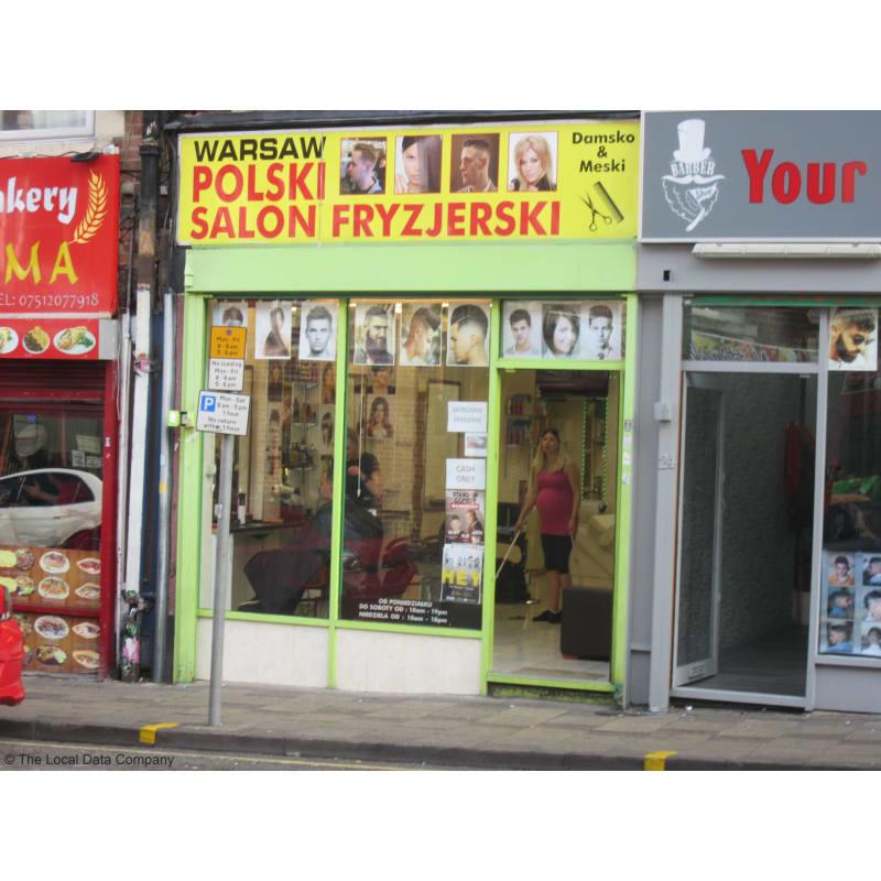 Warsaw Polski Salon Fryzjerski Nottingham Hairdressers Yell