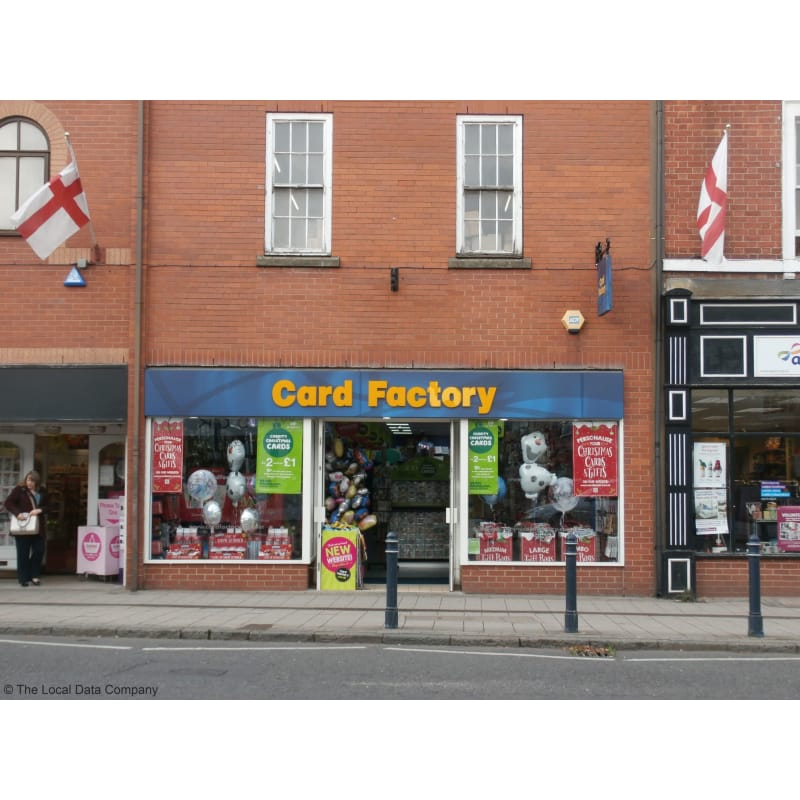 Card factory ashby de la zouch greeting card shops yell reheart Image collections