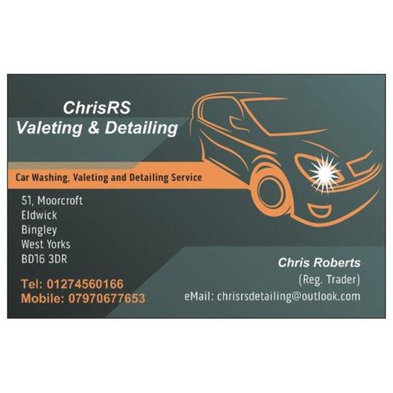 ChrisRS Valeting & Detailing, Bingley   Car & Vehicle Valeting - 3 ...