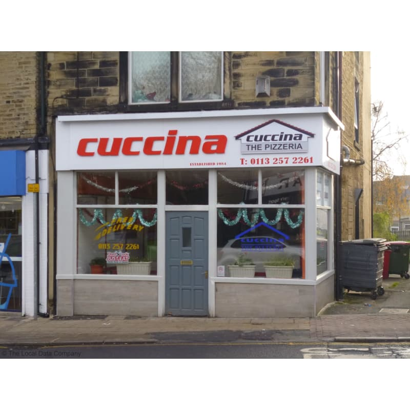 Cuccina Pizza Pudsey Takeaway Food Yell