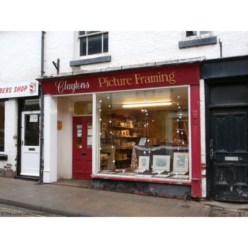 Claytons Picture Framing Market Drayton Picture Framers Frame