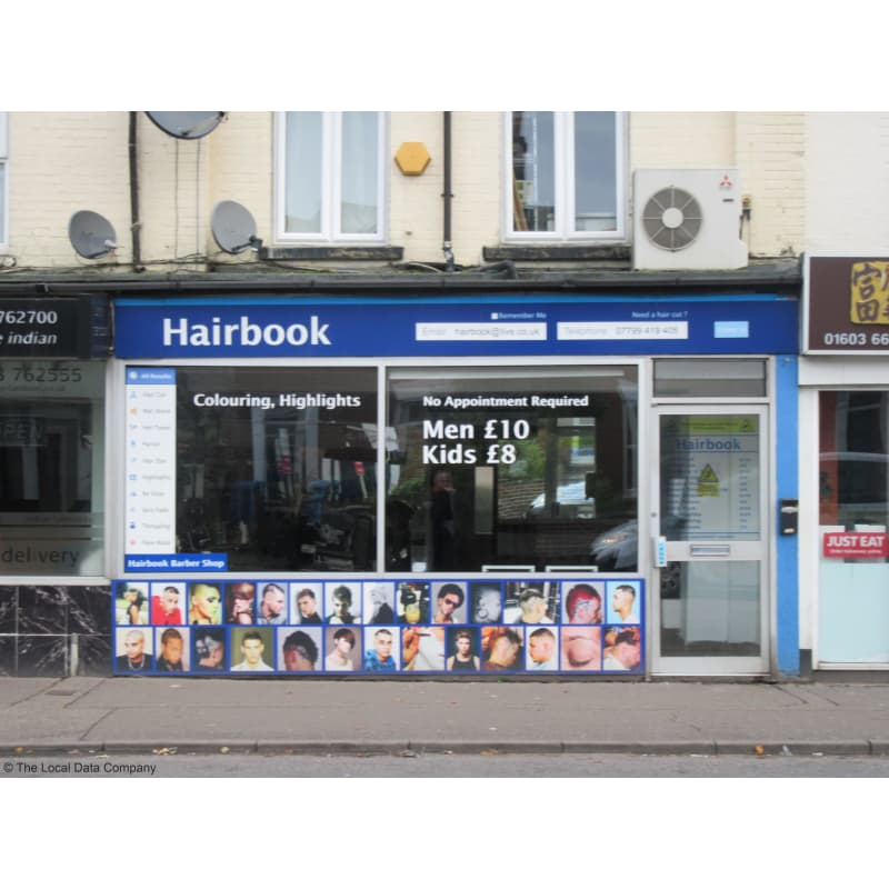 Hairbook Norwich Barbers Yell