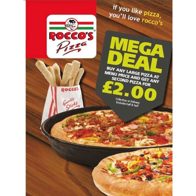 Roccos Pizza Eastleigh Pizza Delivery Takeaway Yell