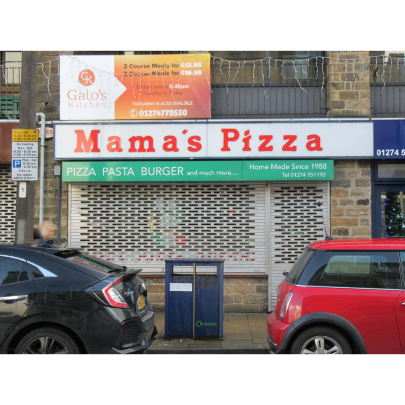 Mamas Pizza Bingley Pizza Delivery Takeaway Yell