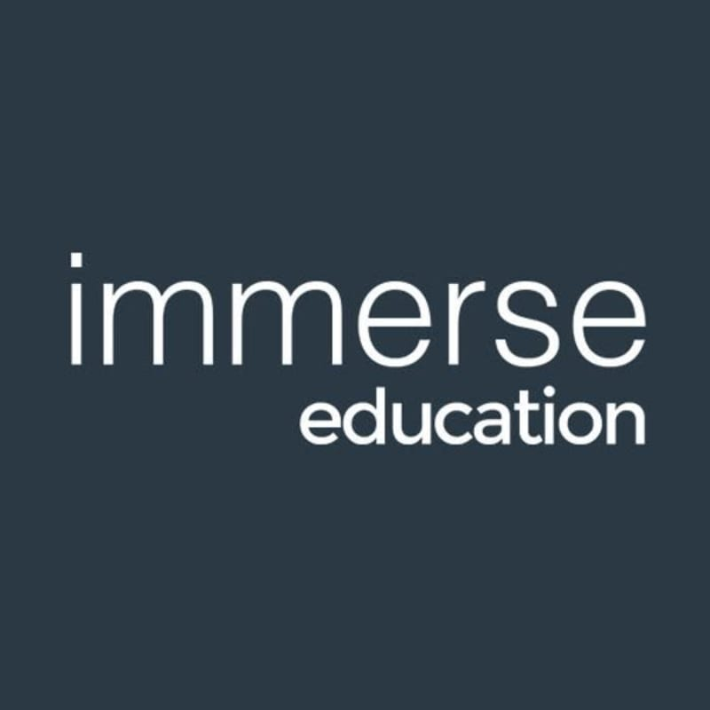 Image result for immerse education logo