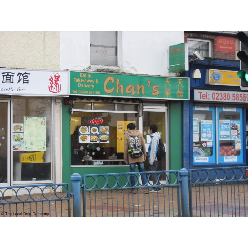 Image result for Chans southampton