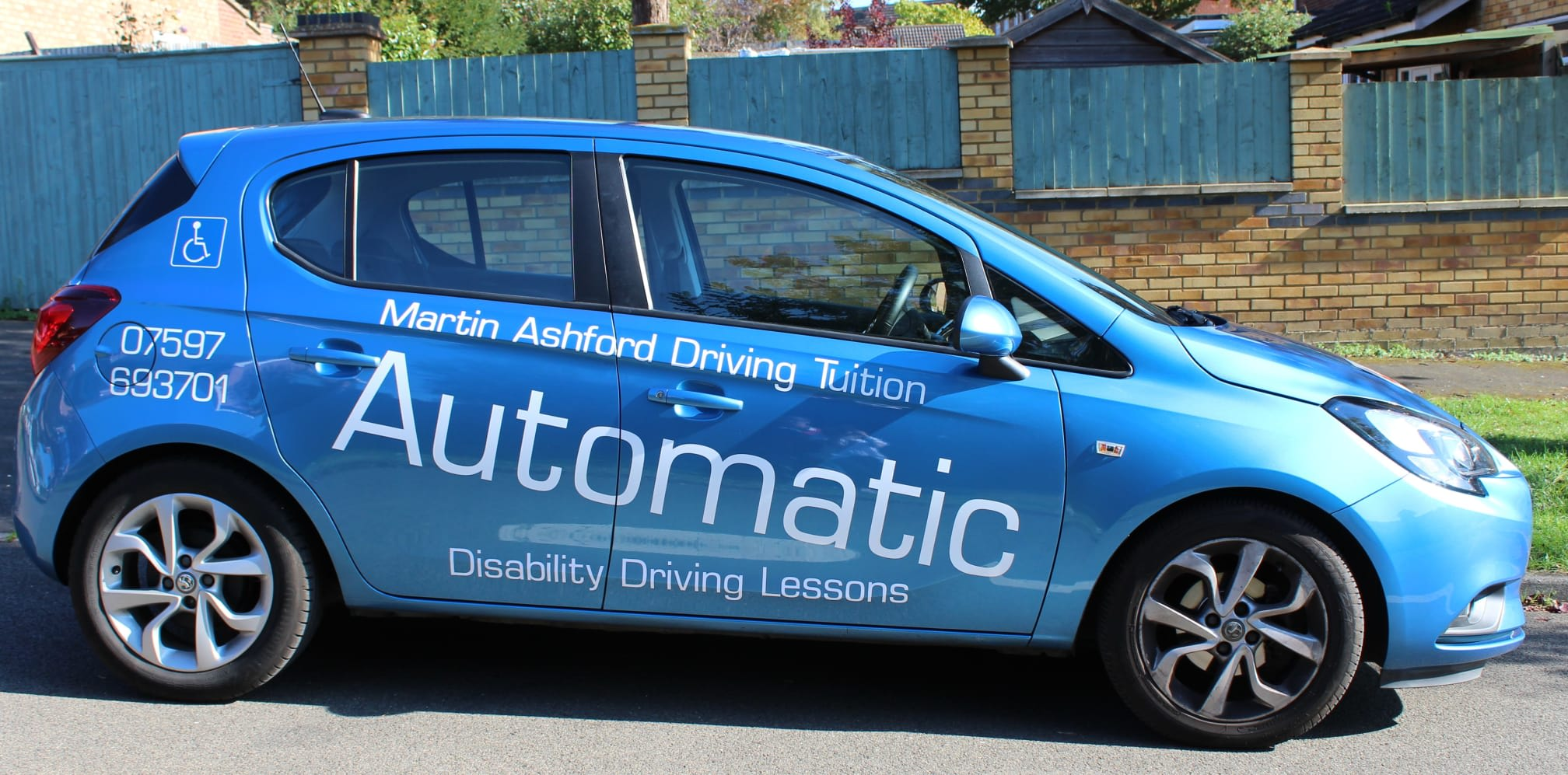 Martin Ashford Driving Tuition | 17 St. Lukes Close, Kettering NN15 5HD | +44 7597 693701