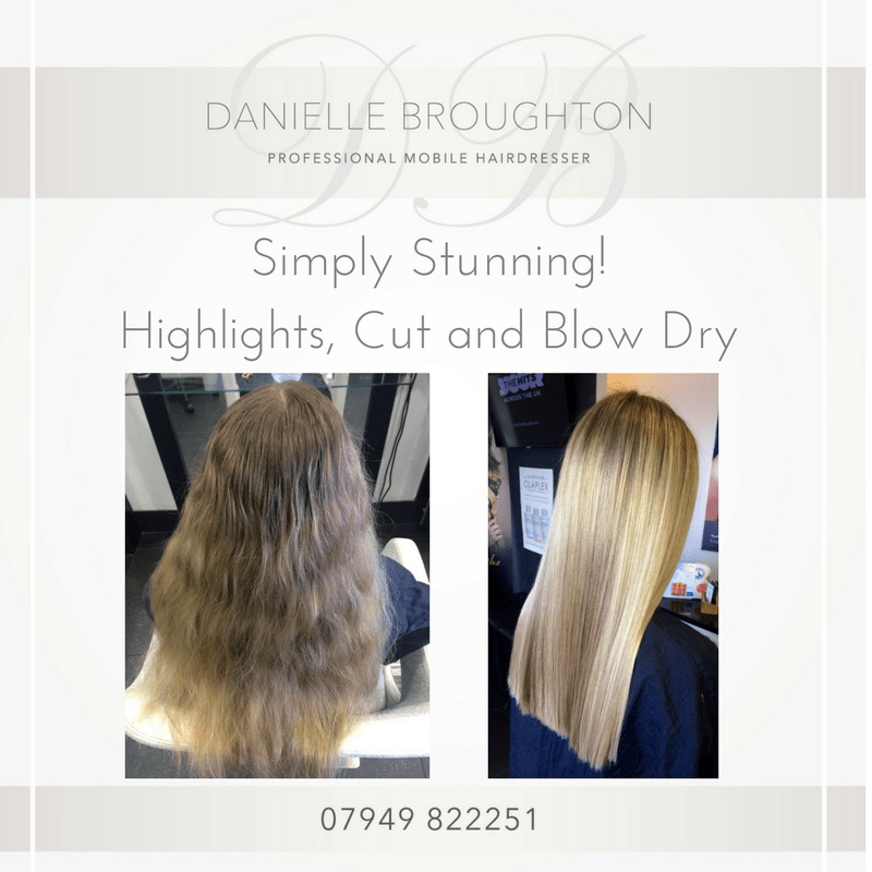 Danielle Broughton - Professional Mobile Hairdresser | Southport Road, Southport PR8 5LE | +44 7949 822251