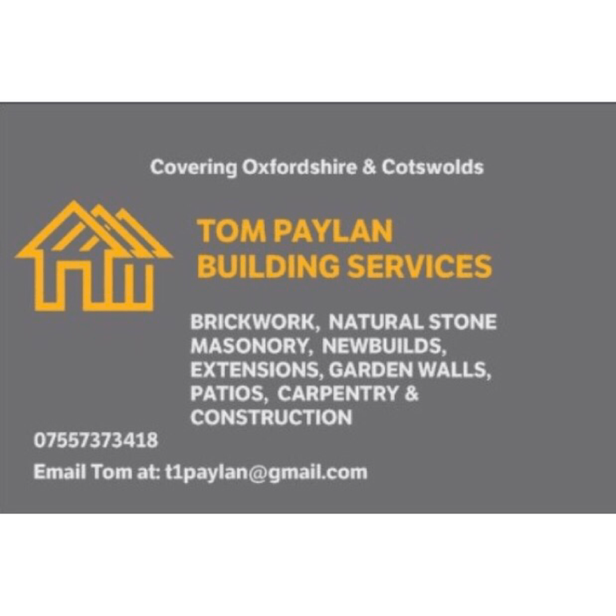 Tom Paylan Brickwork & Building | Holloway Rd, Witney OX28 6NE | +44 7557 373418