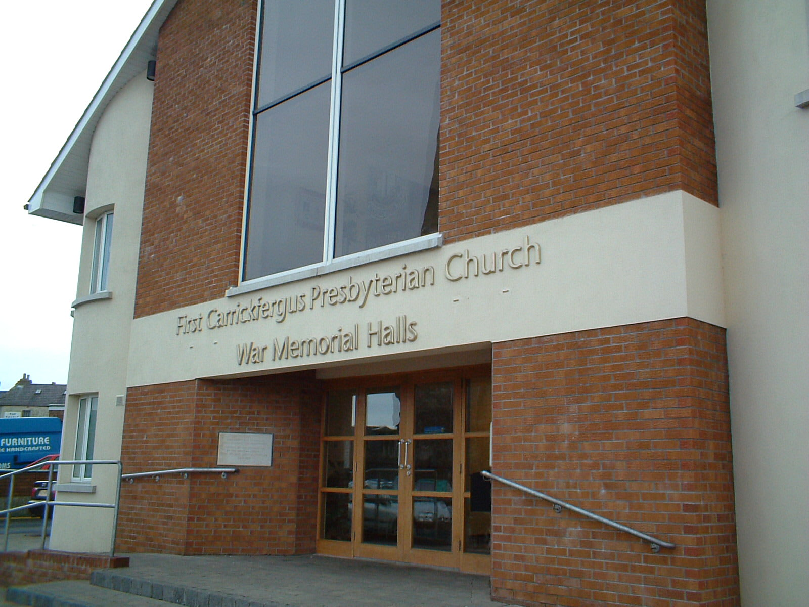 North Street First Carrick Presbyterian Church   North Street, Carrickfergus BT38 7AE   +44 28 9336 1480