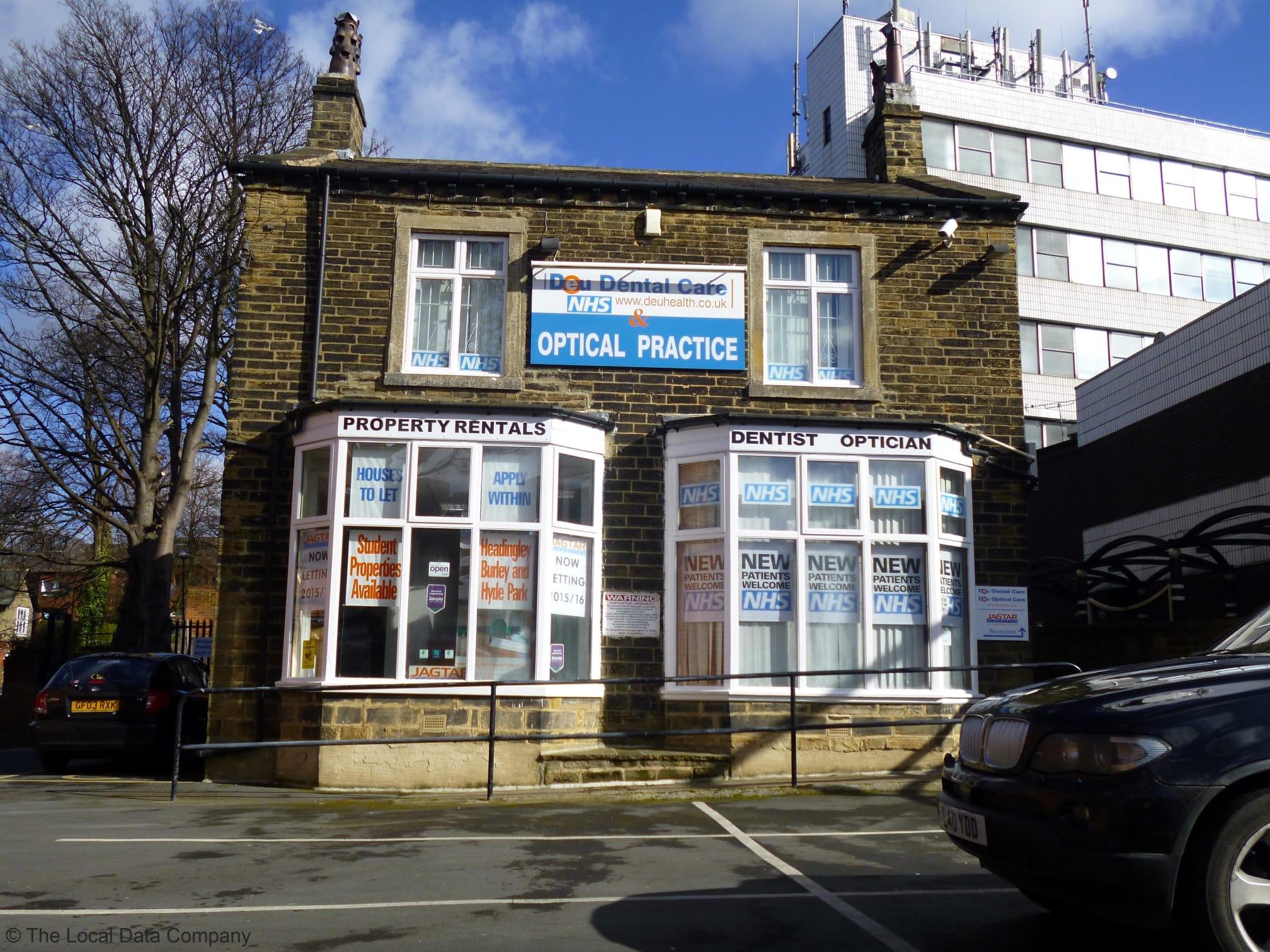 Headingley Dental & Optical Practice   10 Otley Road, Leeds LS6 2AD   +44 113 278 4000