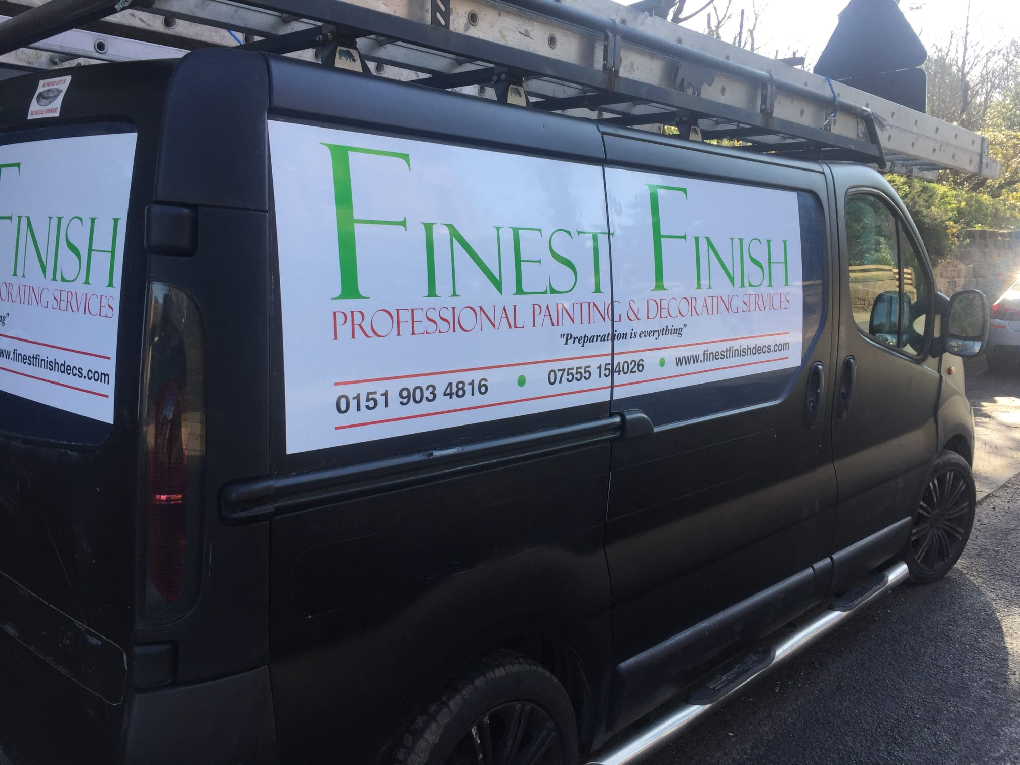 Finest Finish Professional Painting & Decorating | 26 Wentworth Avenue, Wallasey CH45 5ET | +44 7555 154026