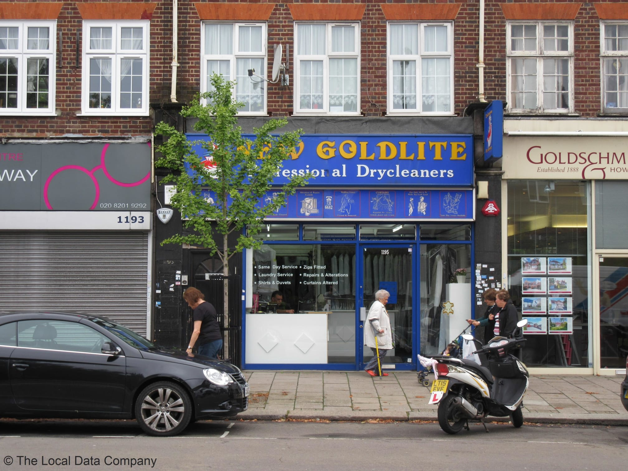 New Goldlite Professional Drycleaners | 1195 Finchley Road, London NW11 0AA | +44 20 8731 6682